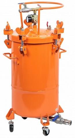 Нагнетательный бак для текстурных составов и шпатлёвок ASpro-30 Aspro