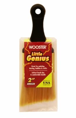 Кисть малярная с пластиковой ручкой, плоская LITTLE GENIUS BRUS Wooster