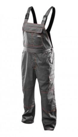 Полукомбинезон рабочий NEO с подтяжками, тёмно-серый