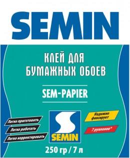 SEM PAPIER клей для бумажных обоев Semin
