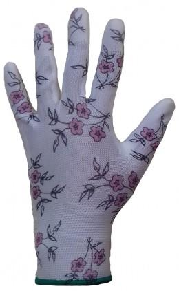 Защитные дышащие перчатки Jeta Safety с рисунком и покрытием из полиуретана Jeta Pro