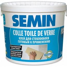 COLLE TOILE DE VERRE готовый клей для стеклообоев Semin