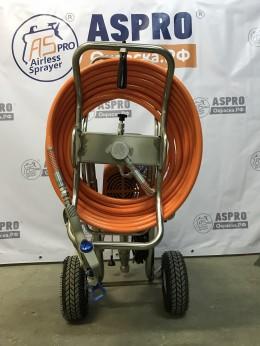Катушка для намотки безвоздушных шлангов ASPRO