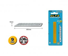 Лезвия Olfa SAB-10B высокоточные для графических работ, 10 шт. Olfa