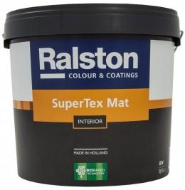 Краска Ralston Super Tex Mat, матовая интерьерная Ralston