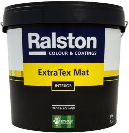 Краска Ralston Extra Tex Mat, матовая интерьерная Ralston