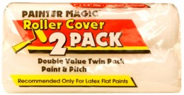 Валик малярный Wooster Painters Magic, сменные ролики, комплект 2 шт Wooster