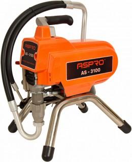 Аппарат безвоздушный Aspro 3100 для лаков, красок и грунтовок, электронное управление Aspro