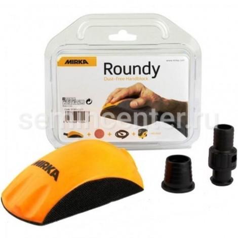 Ручной шлифовальный блок Mirka ROUNDY для дисков 150мм Mirka
